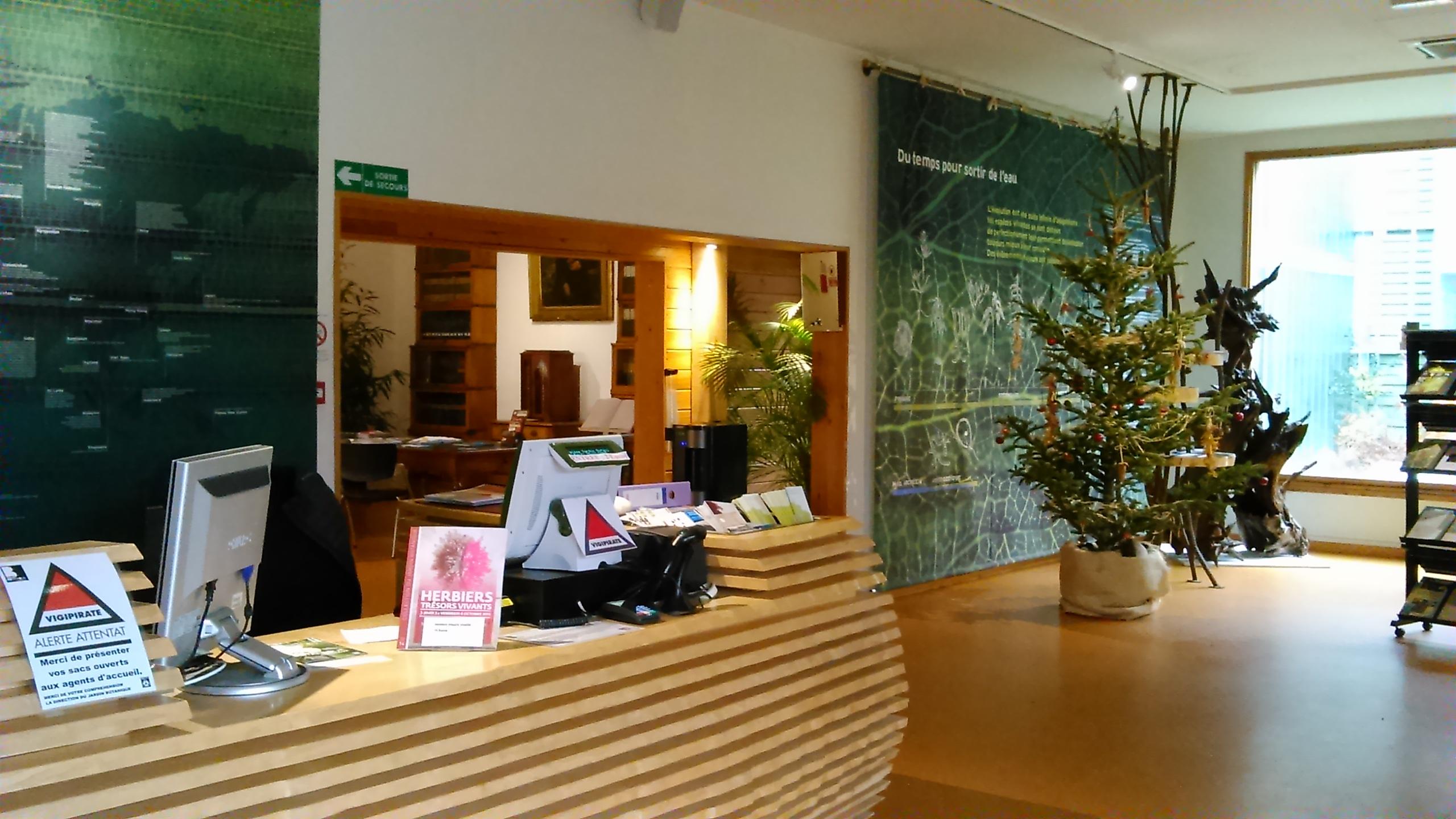 Agent d 39 accueil jardin botanique de bordeaux for Appartement bordeaux jardin botanique