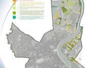 La carte des ENU de Bordeaux