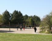 Une classe au Jardin Botanique de la Bastide (galerie des milieux)
