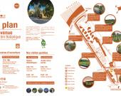 Plan du Jardin Botanique Bastide