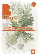 Couverture Index seminum 2019